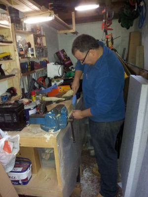 Me in my shed :)